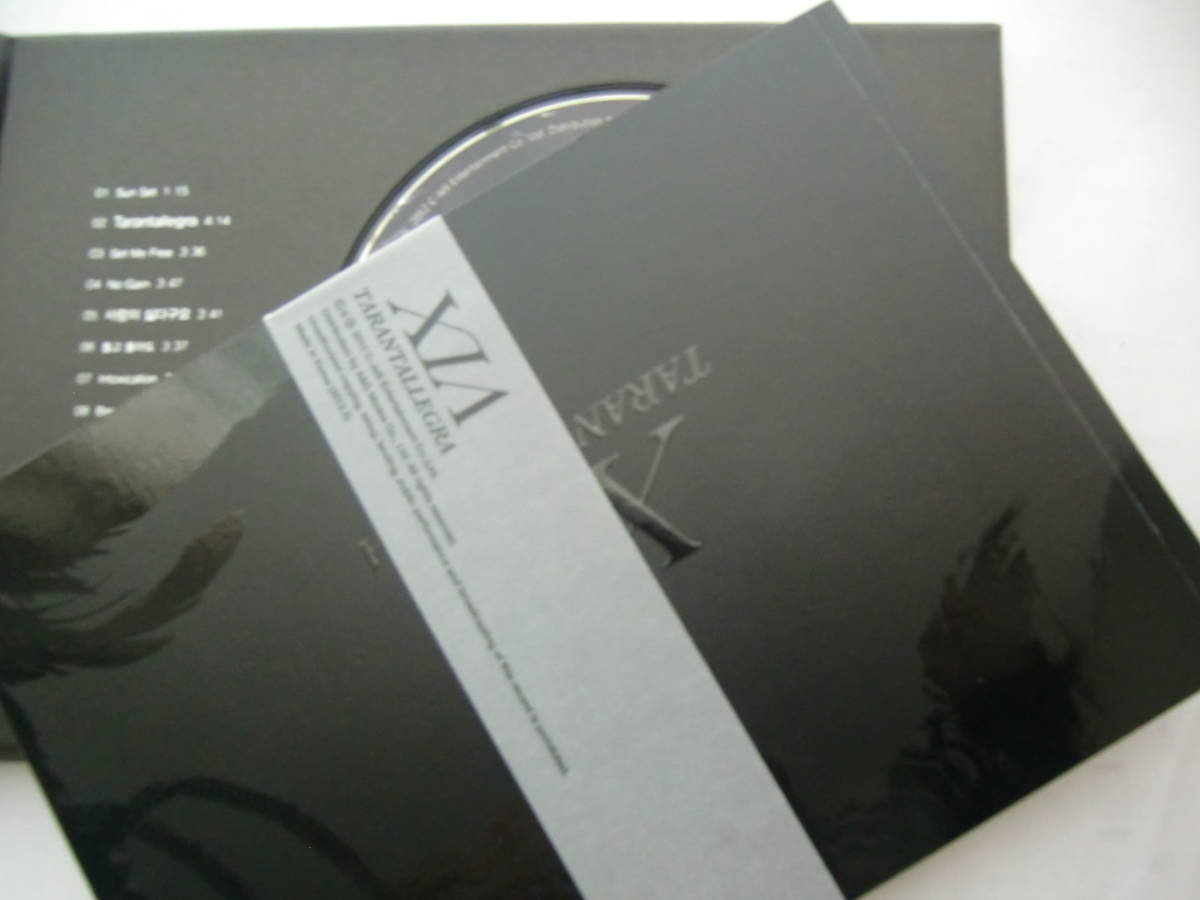 CD 1集 JYJ キム・ジュンス XIA シア TARANTALLEGRA Import盤(韓国盤)_画像6
