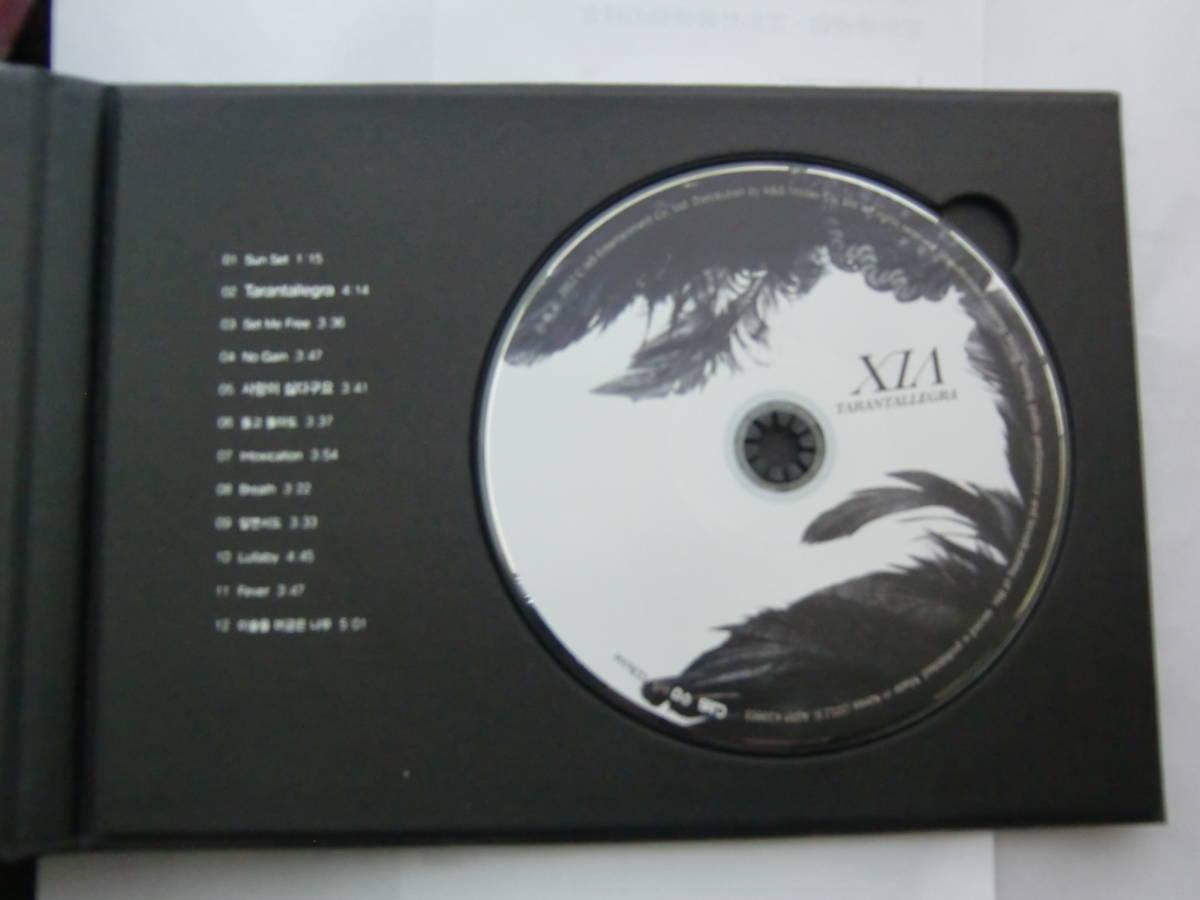 CD 1集 JYJ キム・ジュンス XIA シア TARANTALLEGRA Import盤(韓国盤)_画像4
