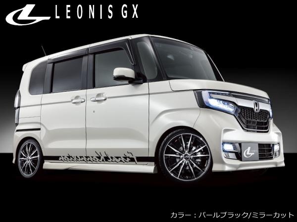 LEONIS GX 新品14インチ 5.5J/+42 PBMC & ラオフェン G FIT AS 175/70R14*トヨタ ヴィッツ 130系/日産 キューブ Z12系/ティーダ C11系_画像3