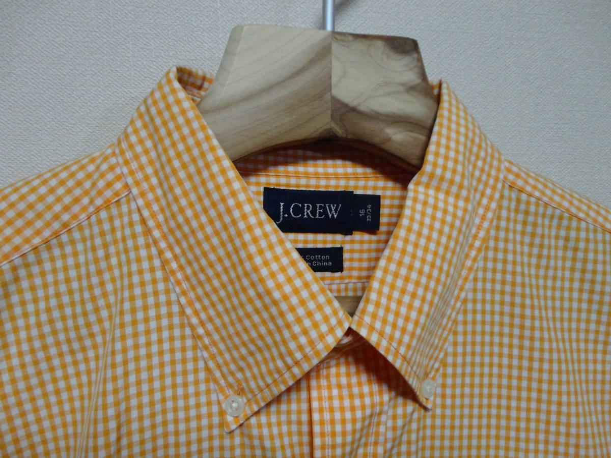 J.Crew (J.クルー) 長袖 チェック柄 シャツ XLサイズ(US 16 33/34) アメカジ 古着 春 人気 ジェイクルー 大きいサイズ ビックサイズ USA_画像3