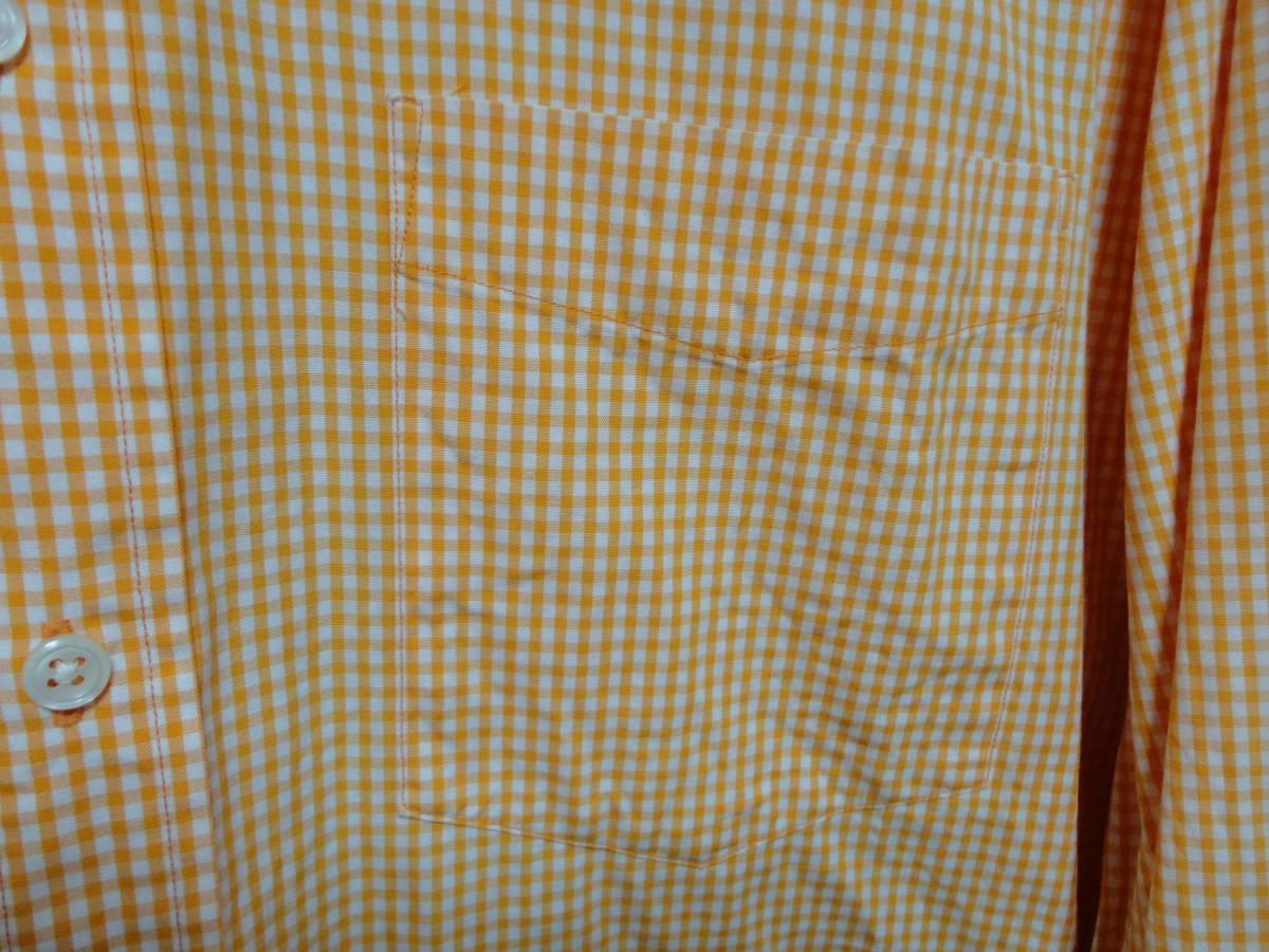 J.Crew (J.クルー) 長袖 チェック柄 シャツ XLサイズ(US 16 33/34) アメカジ 古着 春 人気 ジェイクルー 大きいサイズ ビックサイズ USA_画像4