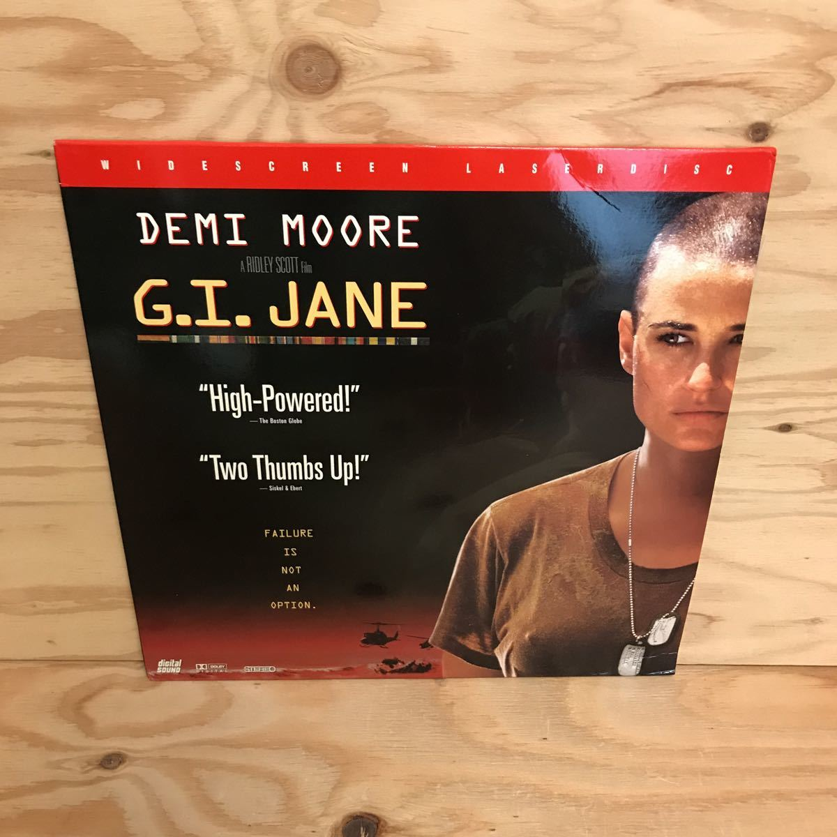 ◎K3FIID-200305 レア[G.I.JANE]LD レーザーディスク SCOTT FREE デミ・ムーア_画像1