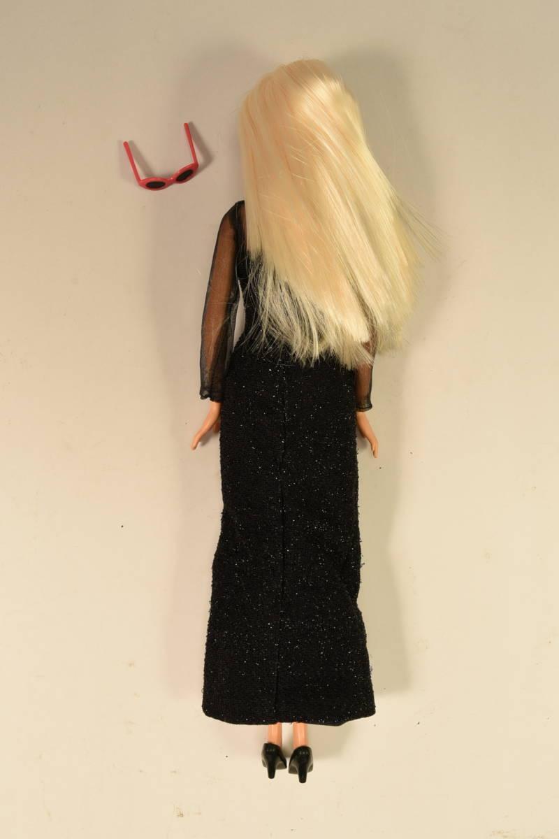 Barbie人形 「詳細不明 Barbie」(F) 元箱無し・スタンド付き _画像4