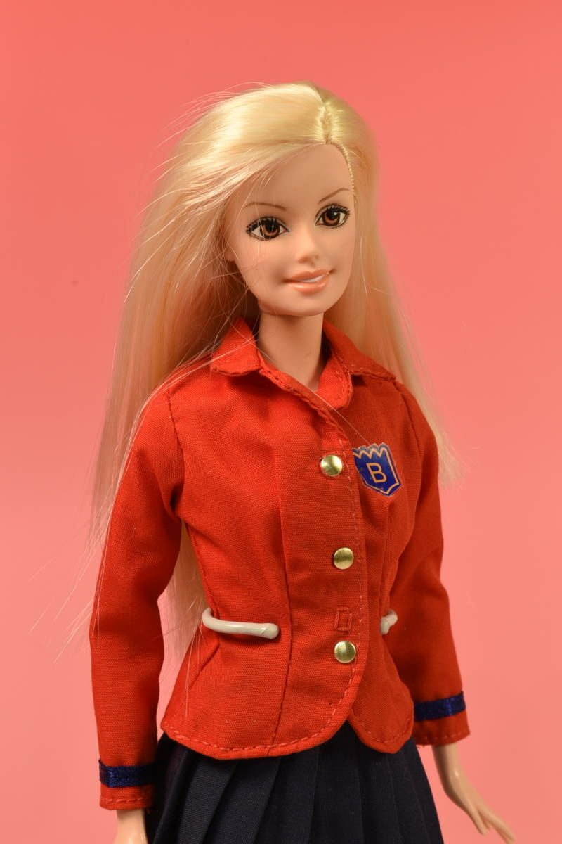 Barbie人形 「詳細不明 Barbie」(F) ・元箱無し・スタンド付き _画像2