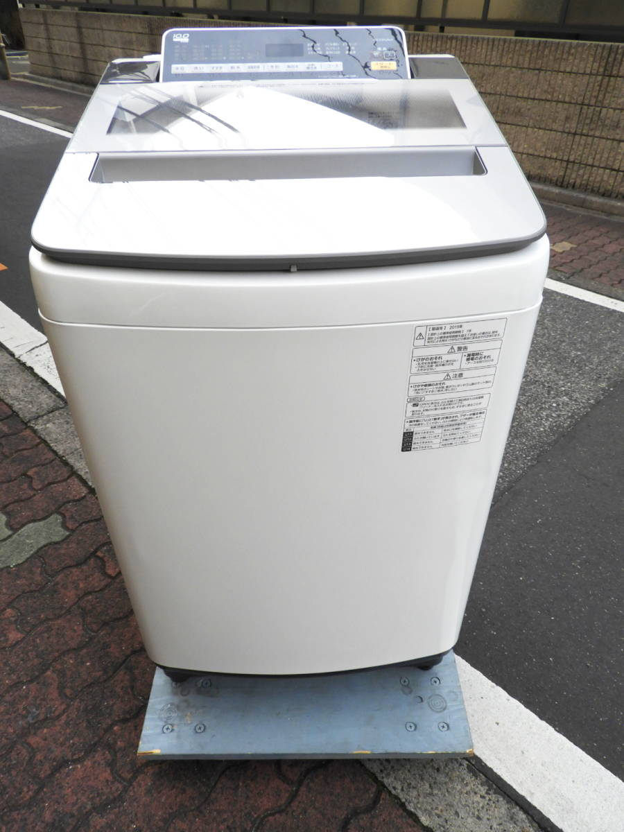 Panasonic パナソニック 全自動洗濯機 洗濯容量10kg NA-F10AH6J Joshinオリジナルモデル (NA-FA100H6 相当品) 2019年製