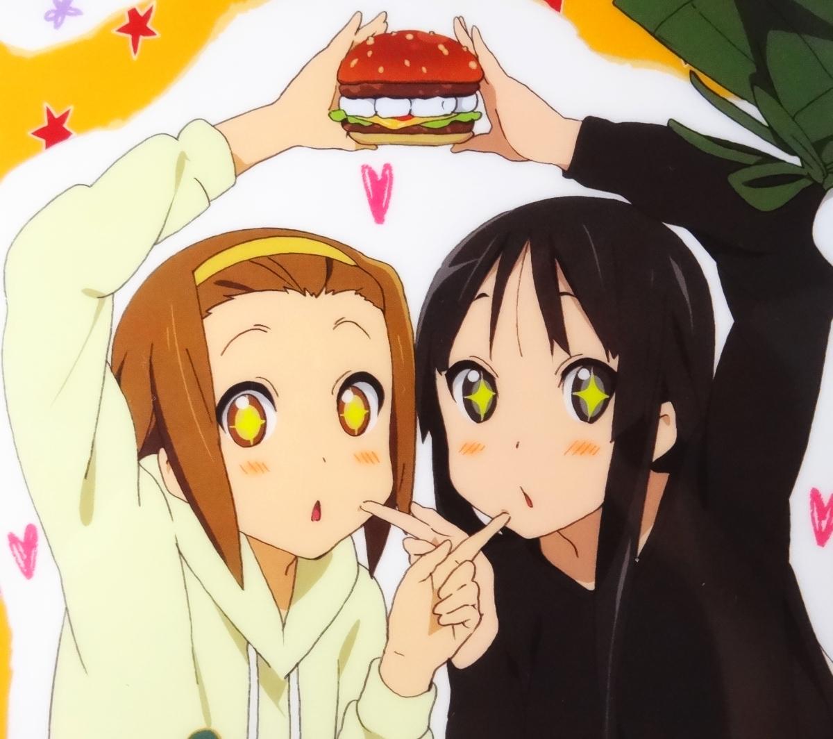 ◆ けいおん!! 秋山澪 メイド服 アニメディア 2010年4月号 付録 クリアファイル ◆_画像5