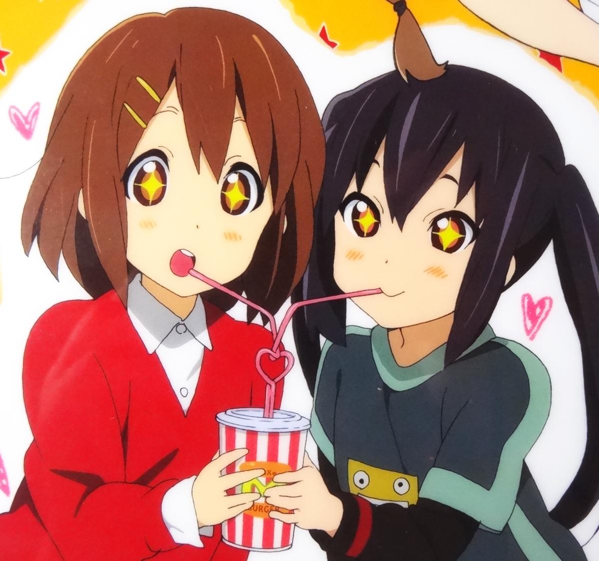 ◆ けいおん!! 秋山澪 メイド服 アニメディア 2010年4月号 付録 クリアファイル ◆_画像4