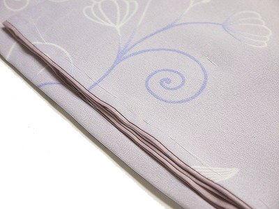 仕立上り 洗える着物 小紋袷 高級感あふれる変わり織り合繊着物 no.304 L寸(新) /装美_画像5