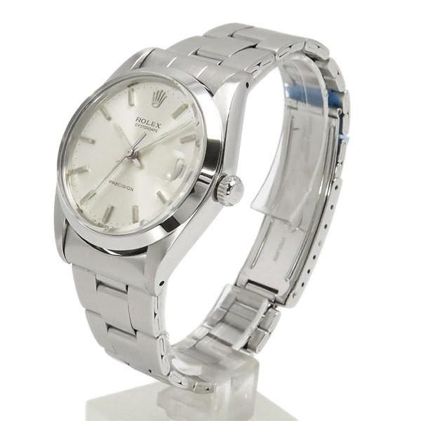送料無料 ロレックス オイスターデイト プレシジョン 6694 手巻き アンティーク メンズ腕時計 O.H. 仕上げ済 逸品質屋 ROLEX_画像2