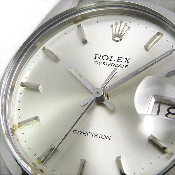 送料無料 ロレックス オイスターデイト プレシジョン 6694 手巻き アンティーク メンズ腕時計 O.H. 仕上げ済 逸品質屋 ROLEX_画像7