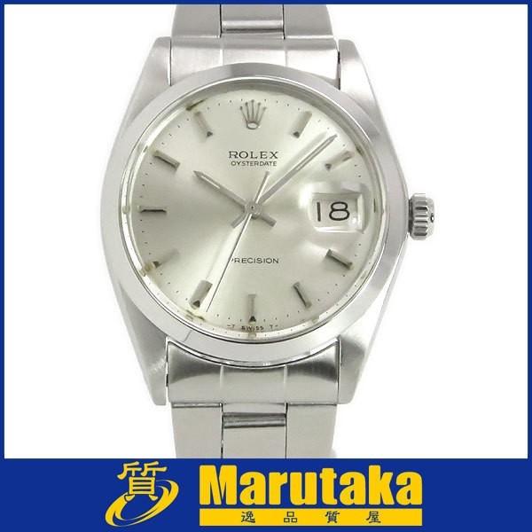 送料無料 ロレックス オイスターデイト プレシジョン 6694 手巻き アンティーク メンズ腕時計 O.H. 仕上げ済 逸品質屋 ROLEX_画像1