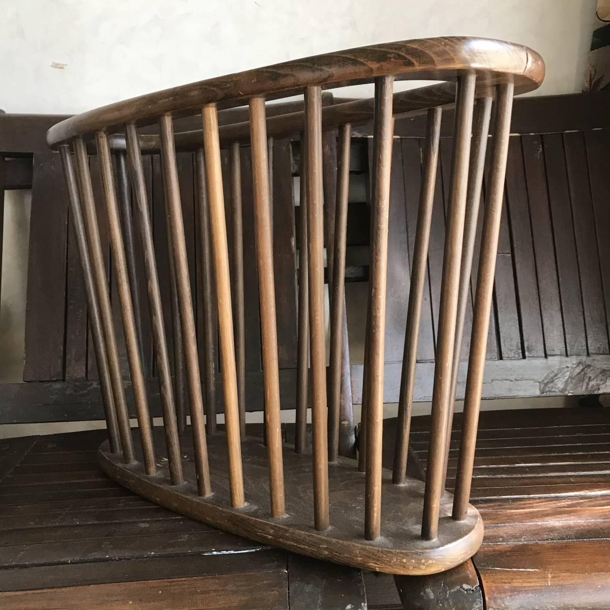 貴重!アメリカアンティーク Antique本の収納ラック 木製USA/カリフォルニア西海岸店舗什器ヴィンテージ50's60's70's_画像2