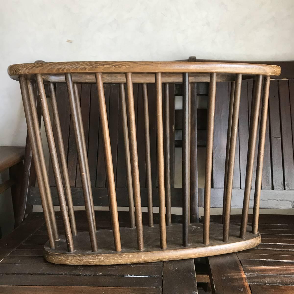 貴重!アメリカアンティーク Antique本の収納ラック 木製USA/カリフォルニア西海岸店舗什器ヴィンテージ50's60's70's_画像1