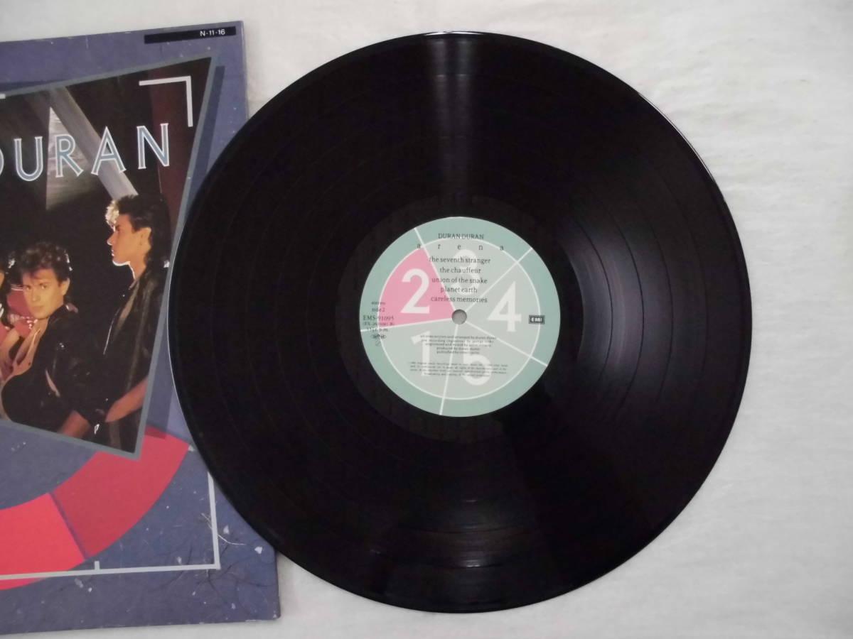 良盤屋 P-1191◆LP◆ENS-91095 Synth-pop  デュランデュラン - アリーナ Duran Duran Arena 1984  送料380_画像10