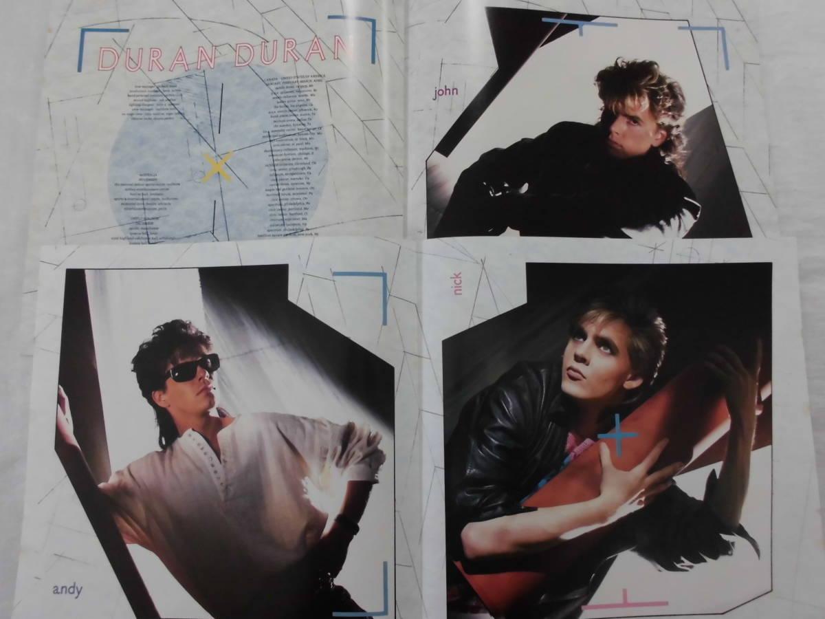 良盤屋 P-1191◆LP◆ENS-91095 Synth-pop  デュランデュラン - アリーナ Duran Duran Arena 1984  送料380_画像4