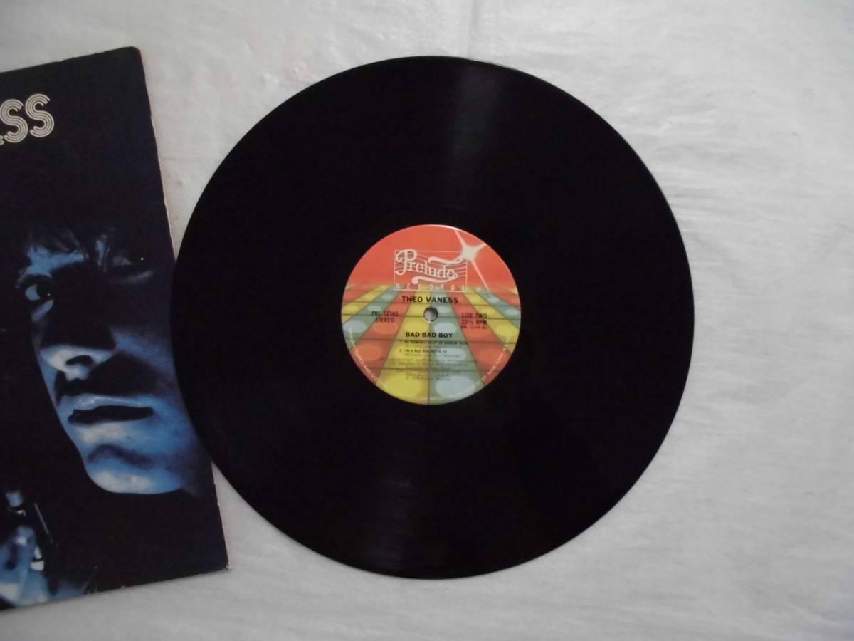 良盤屋 P-1308◆LP◆PRL-12165  Funk / Soul  バッドバッドボーイ Theo Vaness Bad Bad Boy 1979 US盤 送料380_画像5