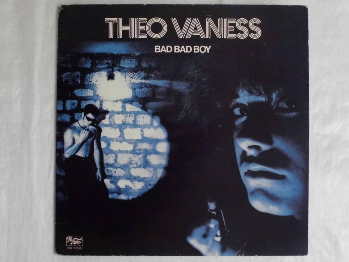 良盤屋 P-1308◆LP◆PRL-12165  Funk / Soul  バッドバッドボーイ Theo Vaness Bad Bad Boy 1979 US盤 送料380_ US盤