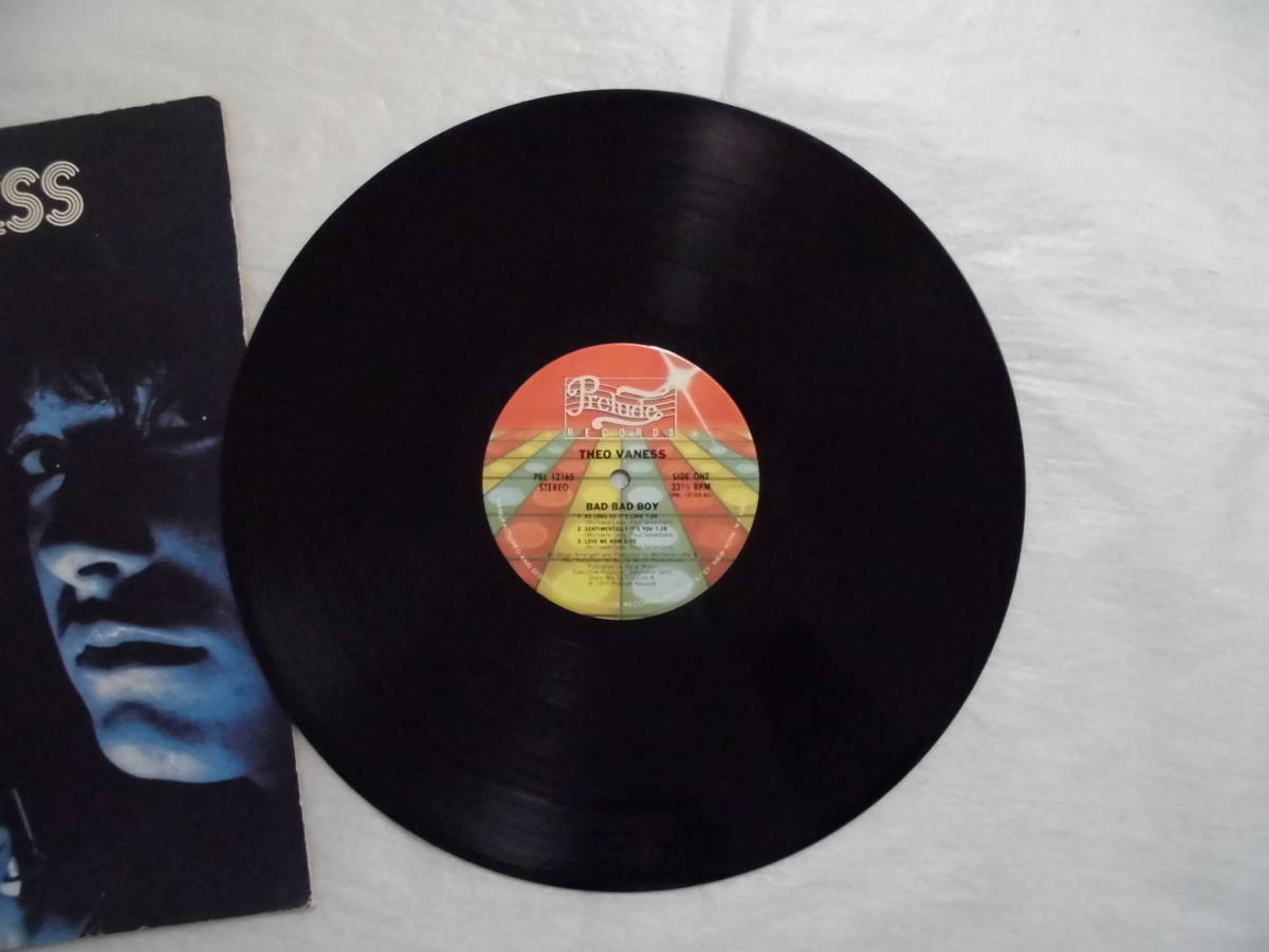 良盤屋 P-1308◆LP◆PRL-12165  Funk / Soul  バッドバッドボーイ Theo Vaness Bad Bad Boy 1979 US盤 送料380_画像4