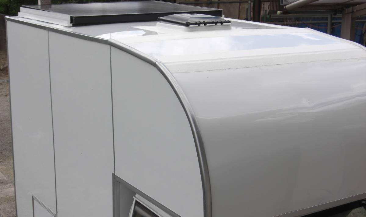 「★★軽トラ車載 ソーラー充電付き マルチキャビン 令和2-2号★★」の画像3