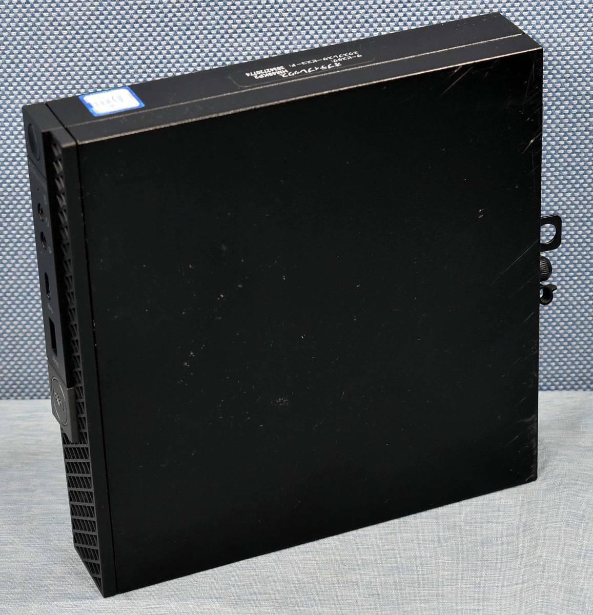 DELL OPTIPLEX 7050 Micro [Core i5-6500T] [SSD 128GB搭載] メモリー:8GB Win10/Pro 64bit chou マイクロサイズ型 パソコン (管:DD47