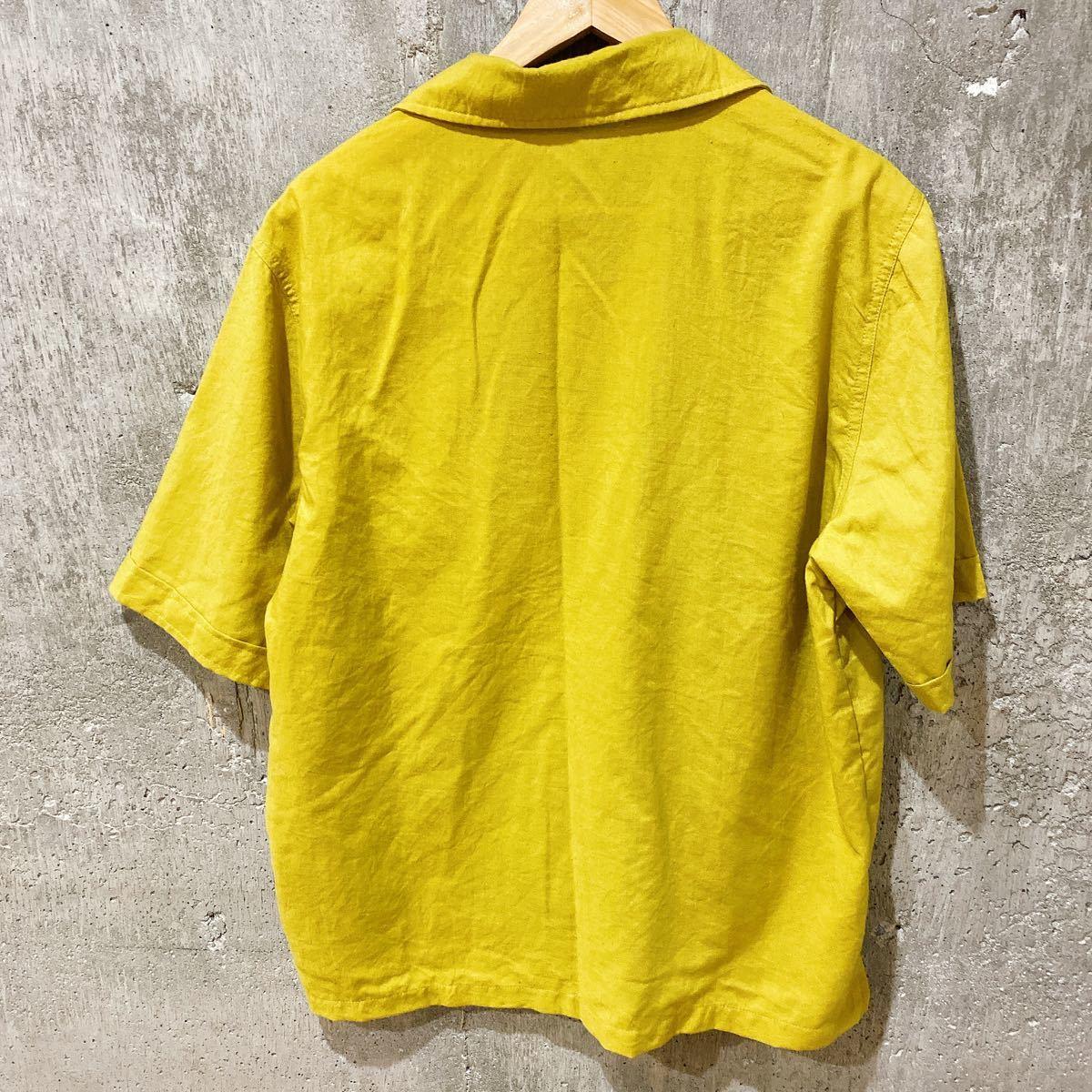 オープンカラーシャツ 半袖シャツ シャツ