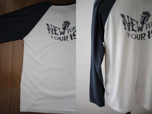 【THE ROLLING STONES】ザ・ローリング・ストーンズ ツアーTシャツ ラグラン ロンT 復刻 古着 LLサイズ 大きいサイズ_画像6
