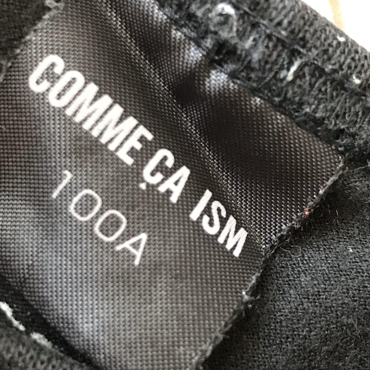コムサイズム 黒 Tシャツ 半袖 100A