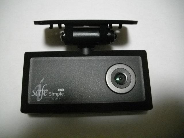 美品!動作確認済み!GPS内蔵!コムテック製ドライブレコーダー DC-DR410!取説付!_画像2