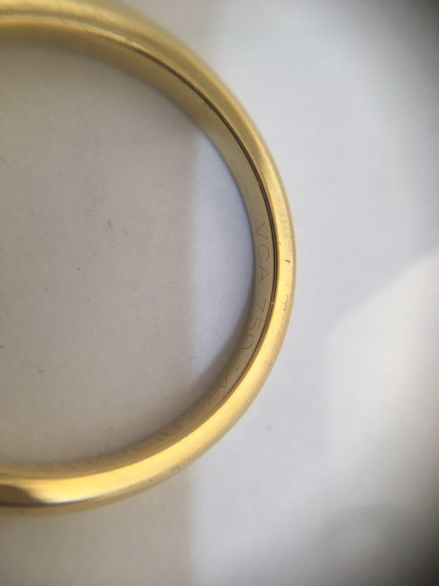 VanCleefArpels ヴァンクリーフ&アーペル 47号 指輪 750_画像3