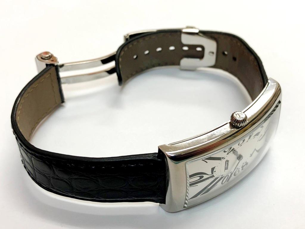☆TISSOT/ティソ バナナウォッチ ヘリテージ T117509A メンズ腕時計《稼働/中古品》☆ _画像8