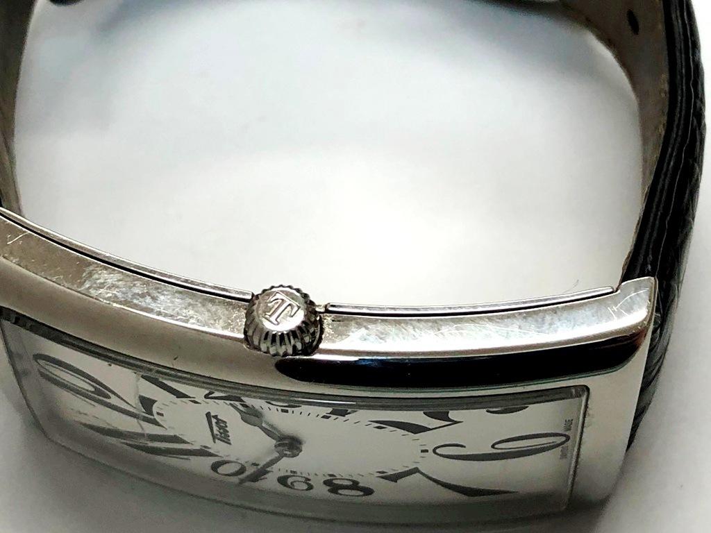 ☆TISSOT/ティソ バナナウォッチ ヘリテージ T117509A メンズ腕時計《稼働/中古品》☆ _画像4