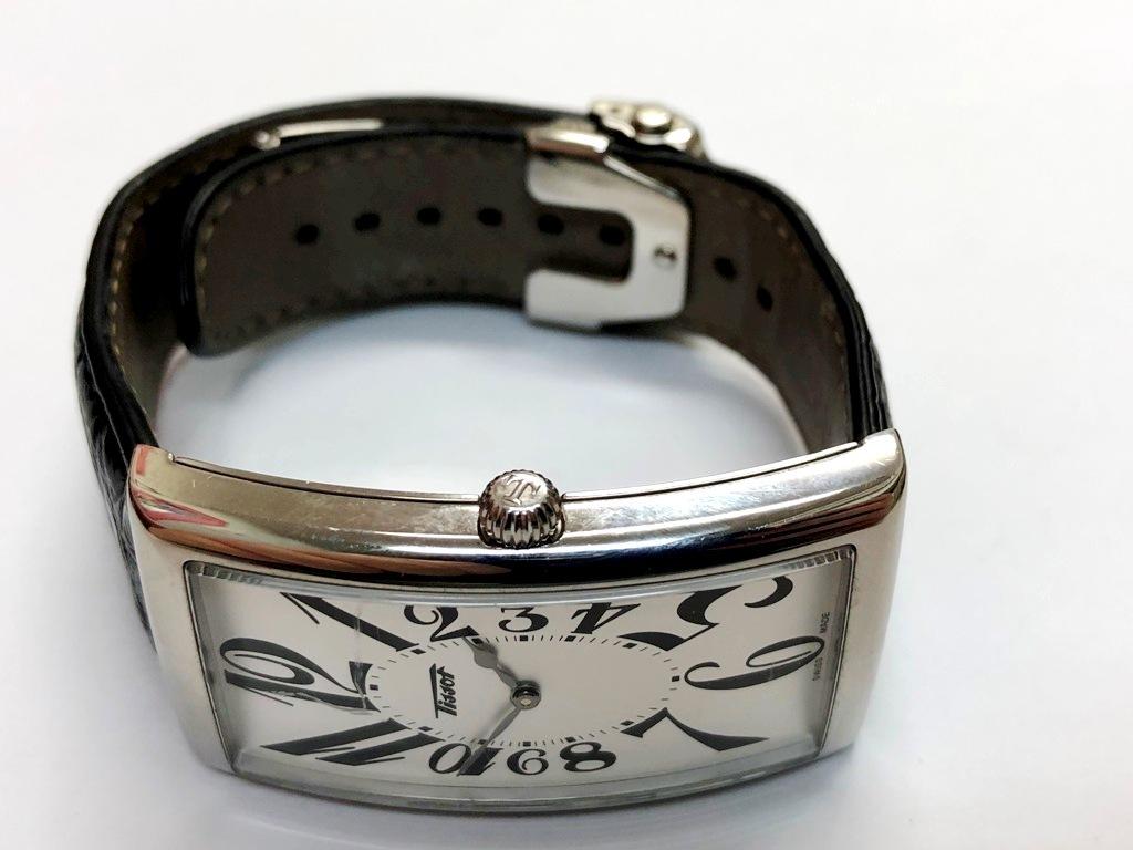 ☆TISSOT/ティソ バナナウォッチ ヘリテージ T117509A メンズ腕時計《稼働/中古品》☆ _画像5