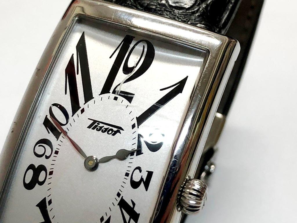 ☆TISSOT/ティソ バナナウォッチ ヘリテージ T117509A メンズ腕時計《稼働/中古品》☆ _画像3