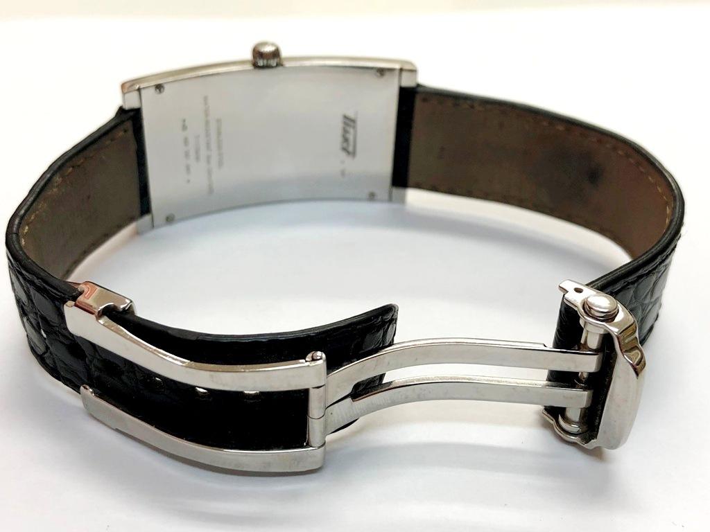 ☆TISSOT/ティソ バナナウォッチ ヘリテージ T117509A メンズ腕時計《稼働/中古品》☆ _画像7