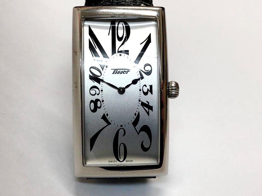 ☆TISSOT/ティソ バナナウォッチ ヘリテージ T117509A メンズ腕時計《稼働/中古品》☆ _画像2