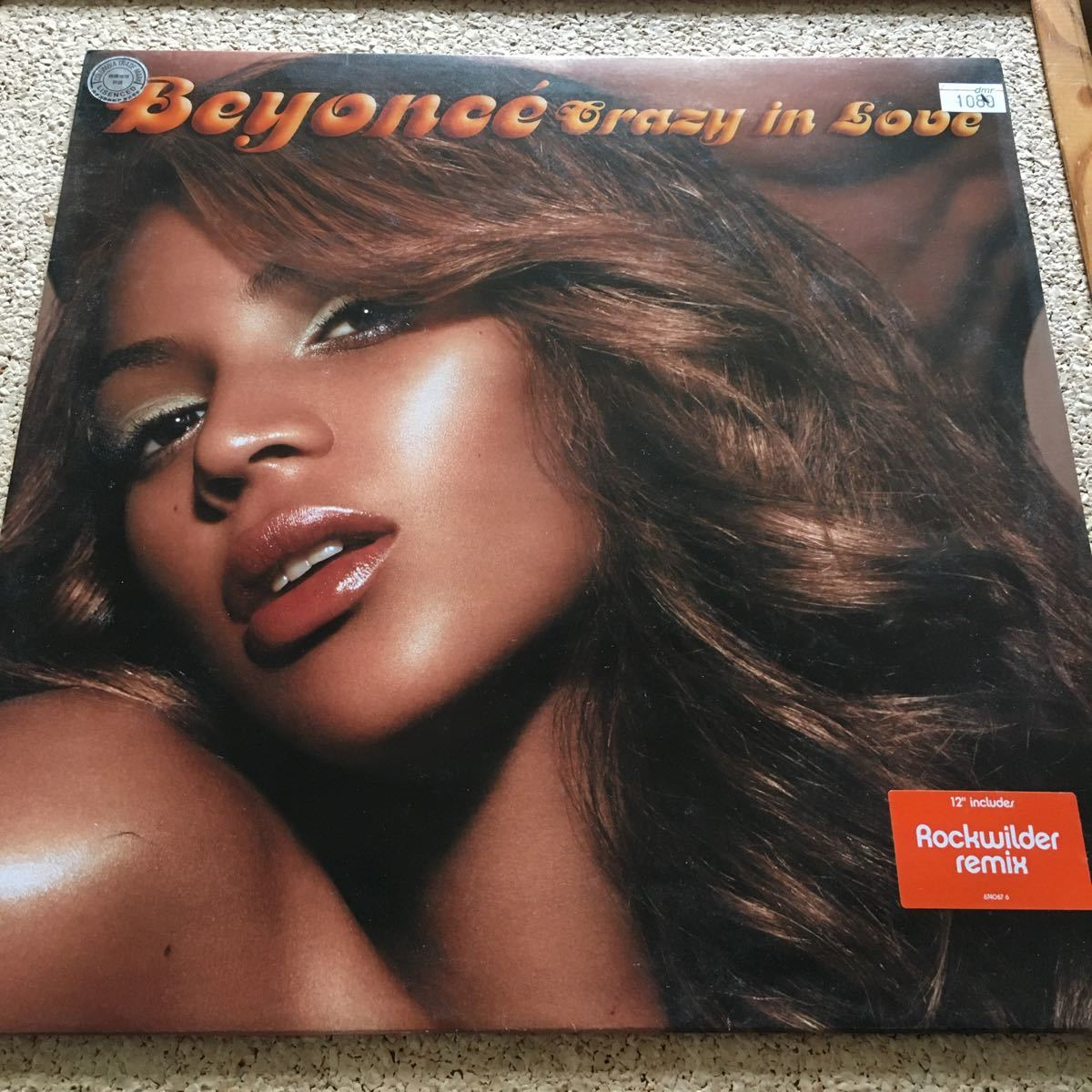 Beyonce / Crazy In Love remix / Album Ver. F. Jay-Z / Chi-Lites - Are You My Woman / 12 レコード_画像1