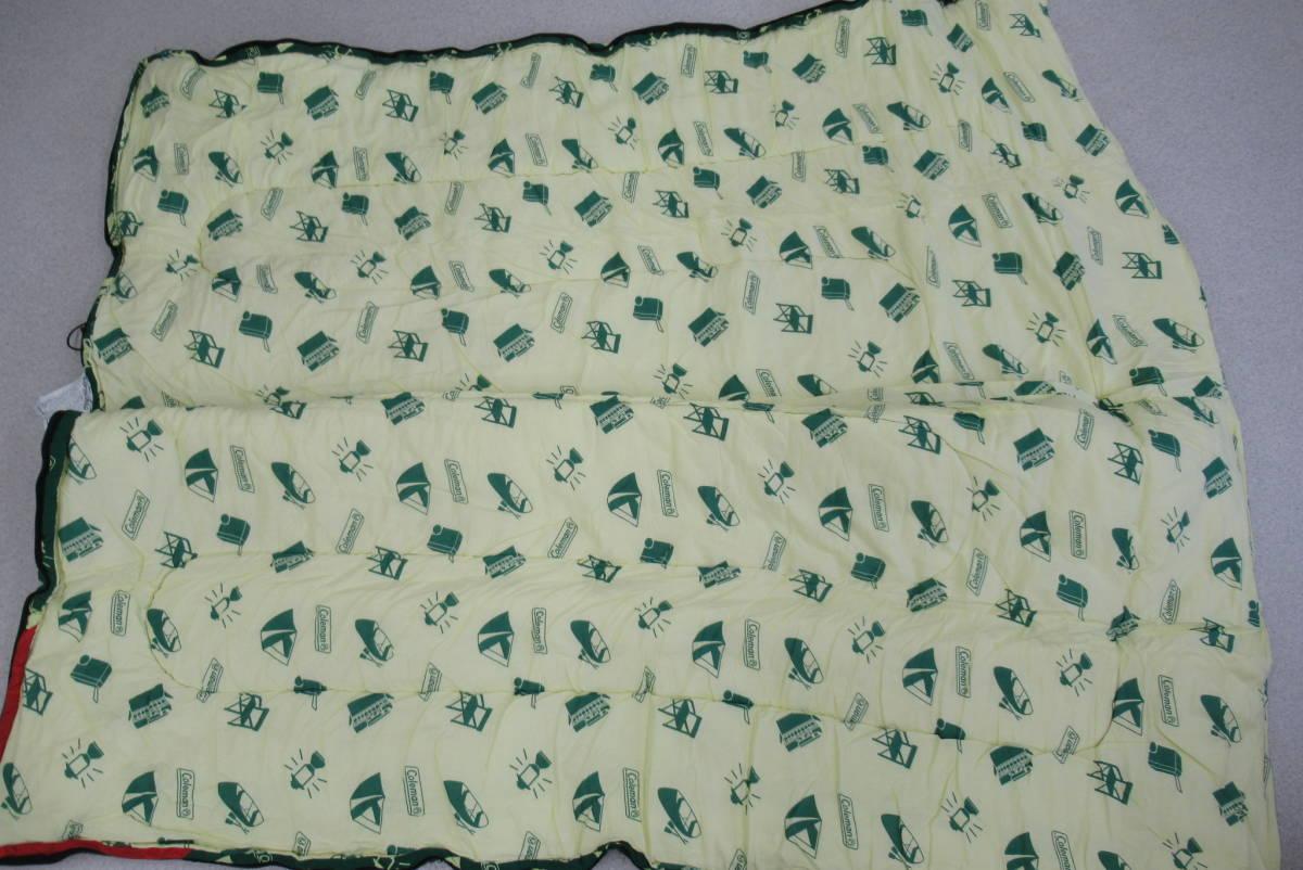 コールマン Coleman シュラフ 寝袋 シングル 2点セット 封筒型 キャンプ アウトドア 車中泊_画像3