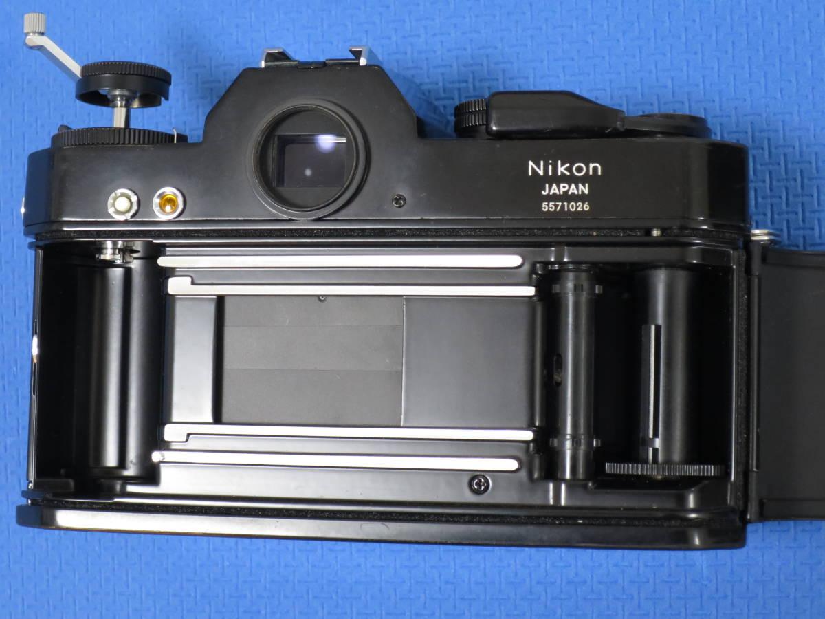 ★ 希少珍品 ★ ニコン ♪ Nikon EL 黒 ボディーのみ ★_画像8