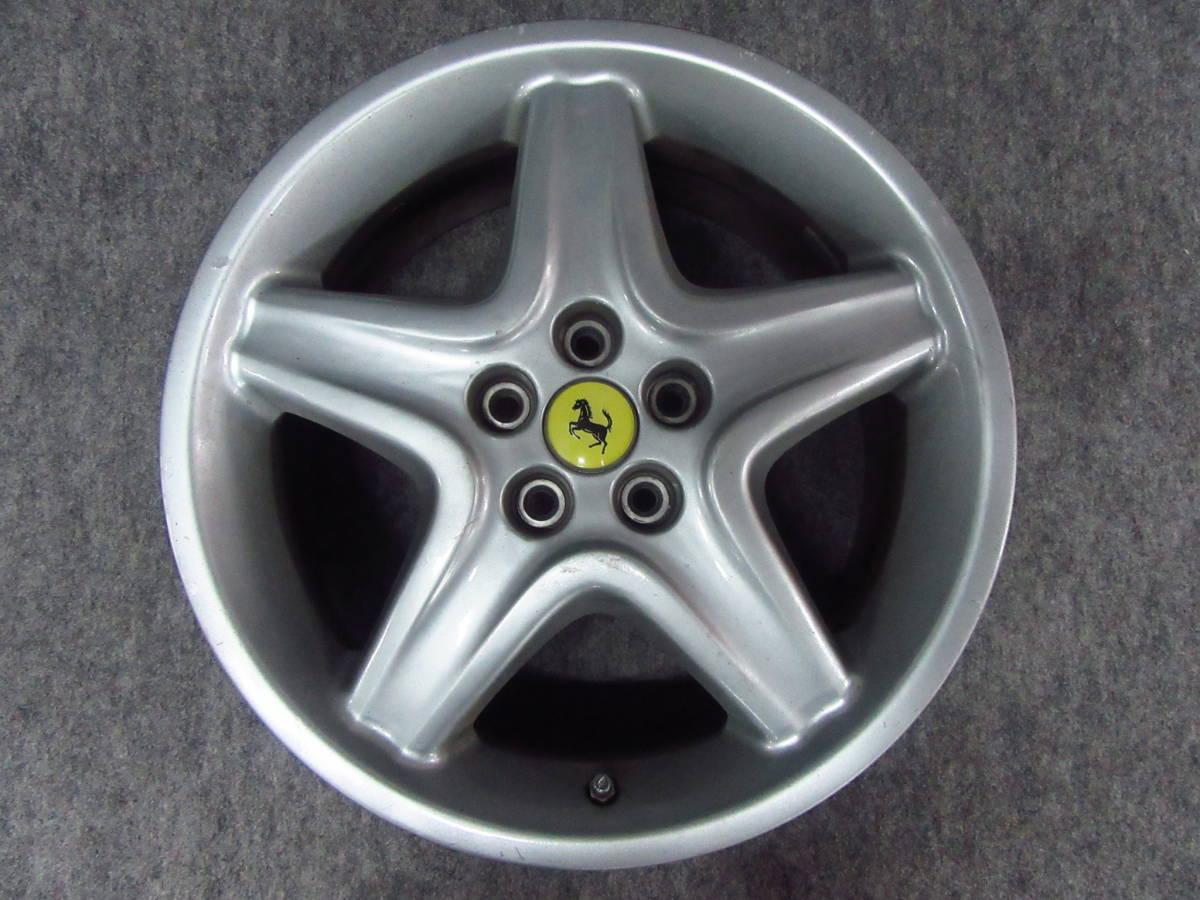 Ferrari フェラーリ 512 TR純正 18インチホイール フロント1本 テスタロッサ 512M 575マラネロ 550 F355 348tb _画像1
