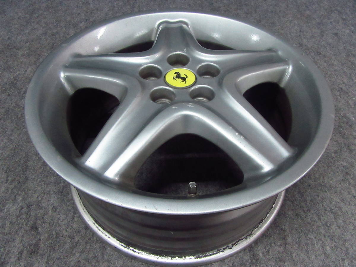 Ferrari フェラーリ 512 TR純正 18インチホイール フロント1本 テスタロッサ 512M 575マラネロ 550 F355 348tb _画像2
