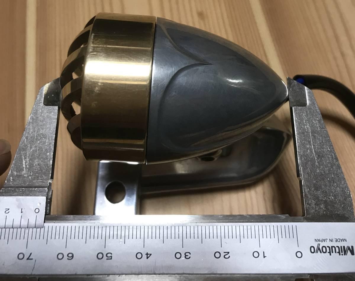 クラシックテールランプ 12V 二輪車テールランプ バイク用 汎用 チョッパー ボバー アメリカン ハーレー カスタムパーツ _画像6