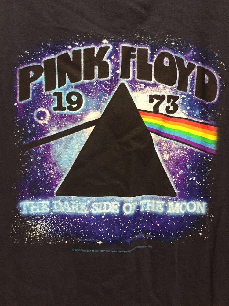 USA古着 2016 PINK FLOYD ピンクフロイド ラグランTシャツ ラグランカットソー ロンT L 黒青_画像5
