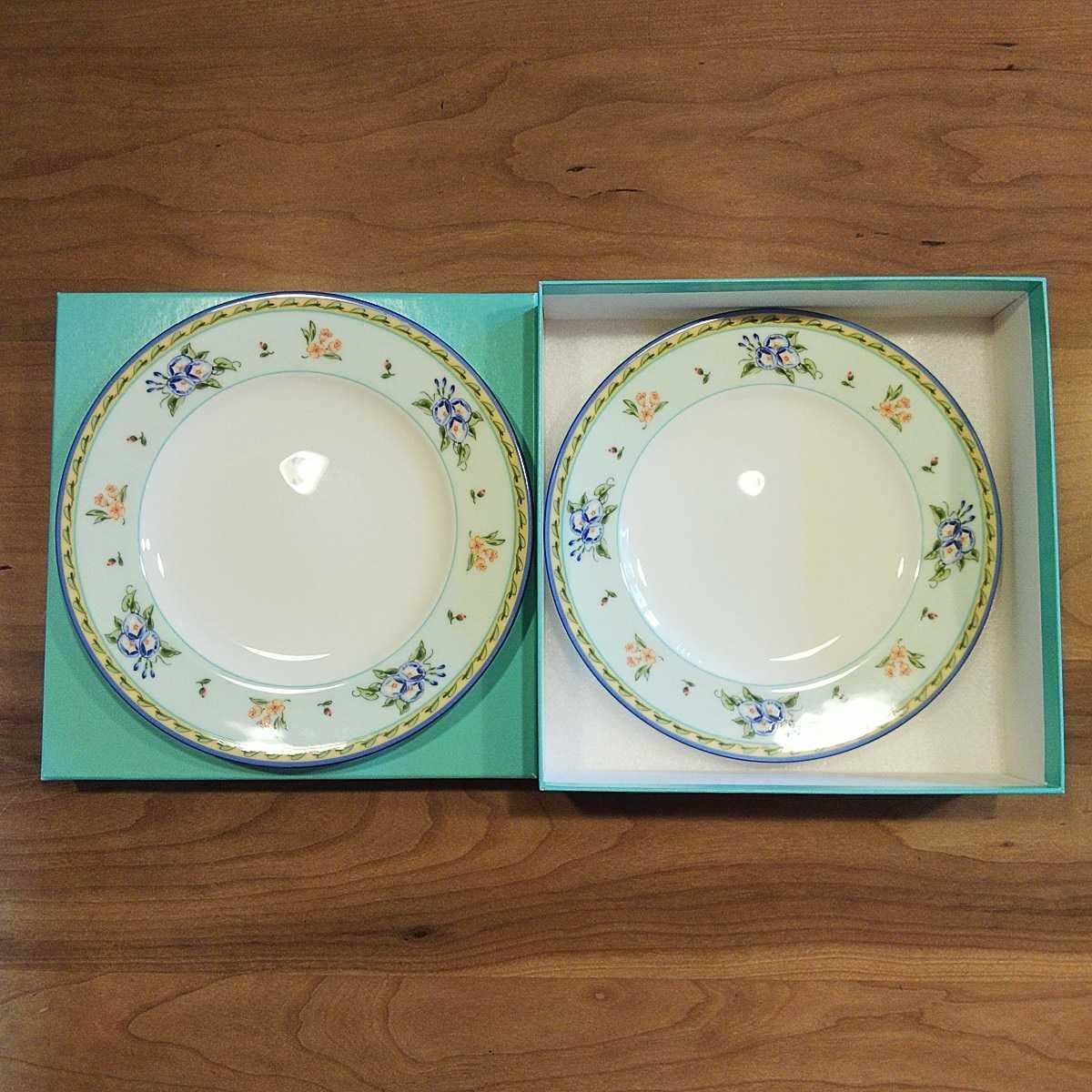 ティファニー 皿 2枚組(新品・未使用)