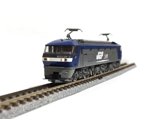 ◯TOMIX 92263 JR EF210 コンテナ列車セット「電球色」動力系 改善 改良 調整加工限定_画像3