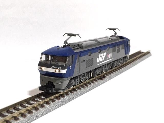◯TOMIX 92263 JR EF210 コンテナ列車セット「電球色」動力系 改善 改良 調整加工限定_画像6