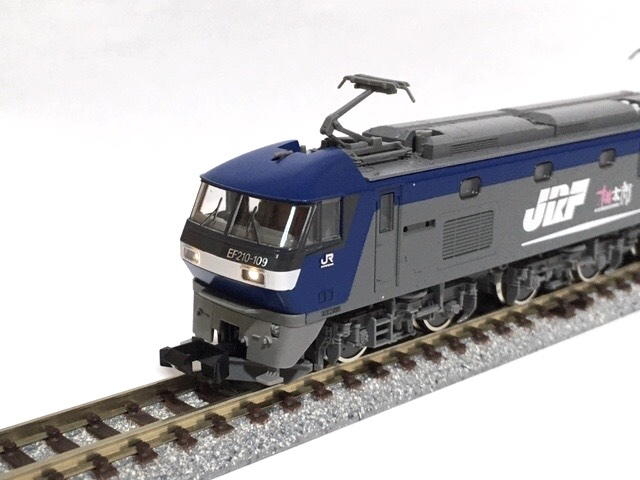 ◯TOMIX 92263 JR EF210 コンテナ列車セット「電球色」動力系 改善 改良 調整加工限定_画像7