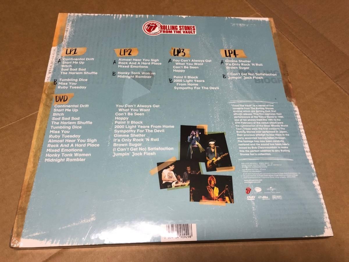 新品4LP+DVD)ROLLING STONES-From The Vault Tokyo 1990 ローリング・ストーンズ
