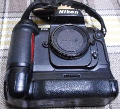 NIKON F100 シャッター切れます 細部未確認 ⑨