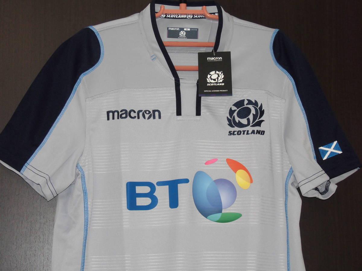 海外S(166-171cm)★Scotland(スコットランド代表)2018/19 Alternate Replica Rugby Shirt(オルタネート レプリカラグビージャージ)★macron_画像2
