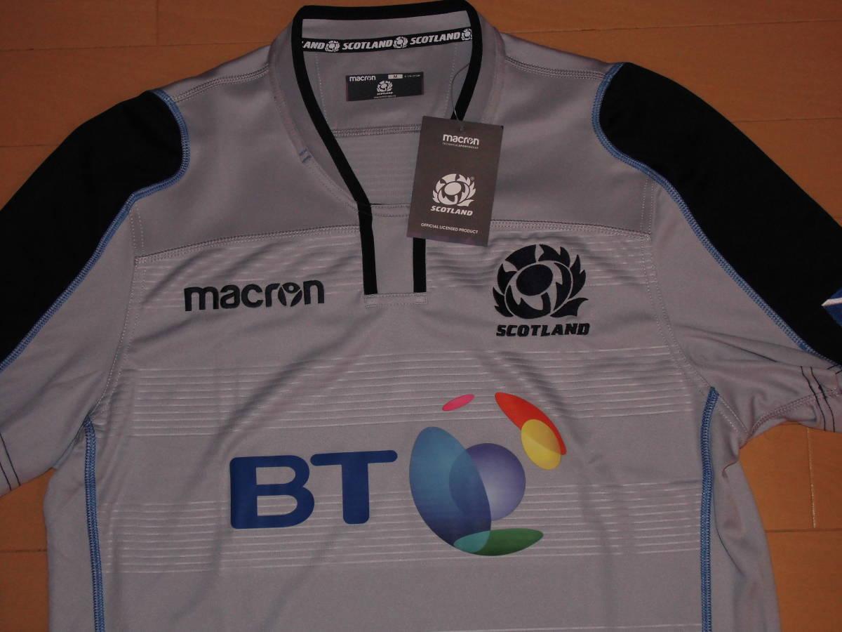 海外S(166-171cm)★Scotland(スコットランド代表)2018/19 Alternate Replica Rugby Shirt(オルタネート レプリカラグビージャージ)★macron_画像9